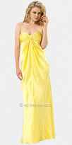 Yellow Strapless Gowns from Laundry by Shelli Segal