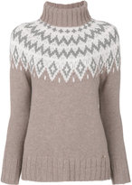 Woolrich roll neck knitted jumper