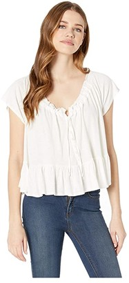 Free People Charlie Tee (Neutral) Women's T Shirt
