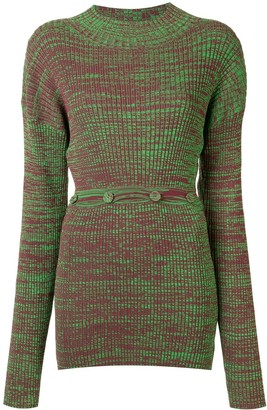 CHRISTOPHER ESBER Ribbed Knit Jumper