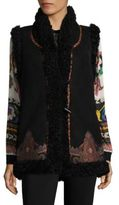 Etro Wool Shearling Vest