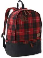 L.L. Bean Beans Teardrop Backpack, Plaid