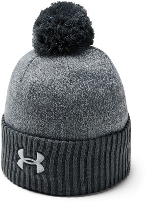 Under Armour Men's UA Big Logo Pom Beanie