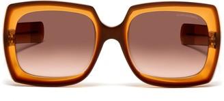Oliver Goldsmith Sunglasses Fuz 1966 Honey