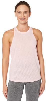 Lorna Jane Fitter Faster Stronger Tank (Whisper Pink) Women's Clothing