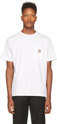 Carhartt Work In Progress White Pocket Short Sleeve T-Shirt