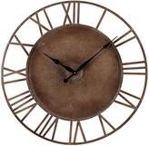 Sterling 128-1002 Metal Roman Numeral Outdoor Wall Clock