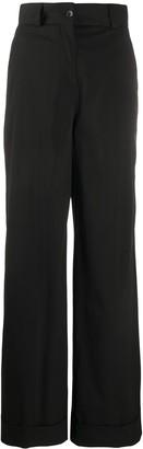 Pt01 Juliet wide-leg trousers