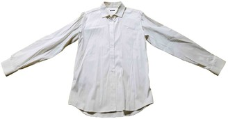 Miu Miu White Cotton Shirts