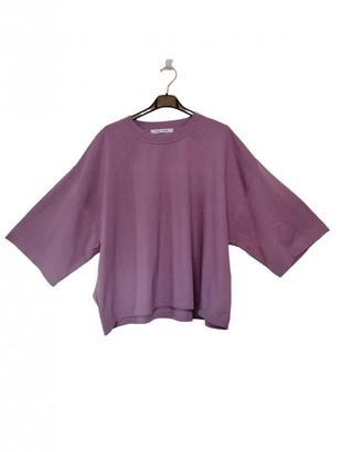 Samsoe & Samsoe Pink Cotton Top for Women
