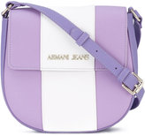 Armani Jeans foldover crossbody bag - women - Polyester/Cotton/PVC - One Size