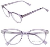Derek Lam Women's 50Mm Optical Glasses - Blue Cloud