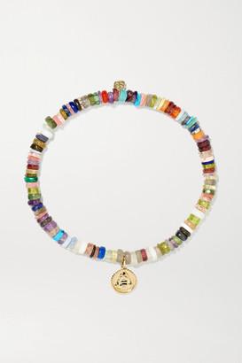 Sydney Evan 14-karat Gold Multi-stone Bracelet - one size