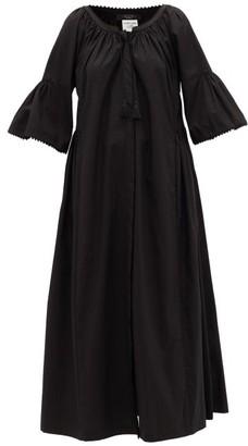 Max Mara Ombrato Dress - Womens - Black