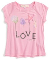 Truly Me Infant Girl's Love Graphic Tee
