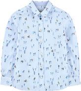 Paul Smith Printed poplin shirt