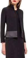 Akris Women's Ilke Double Face Wool Blend Jacket