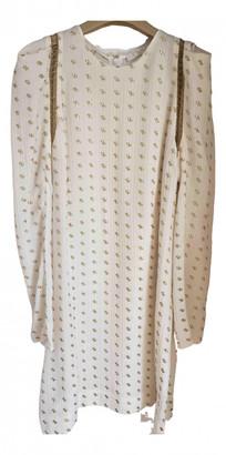 Chloé Beige Silk Dresses