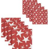 Star Paper Napkins Set of 16
