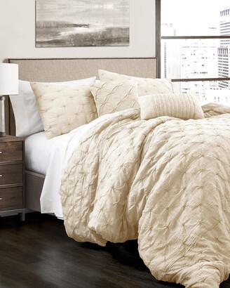 Triangle Home Fashion Ravello Pintuck Comforter Set