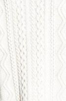 Topshop Cable Knit V-Neck Cardigan