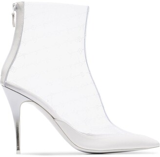 Stella McCartney transparent PVC ankle boots