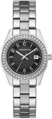 Bulova Caravelle by Women's Crystal Stainless Steel Watch - 43M121