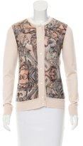 Salvatore Ferragamo Printed Button-Up Cardigan