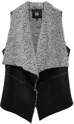 Red 23 Faux Fur Vest