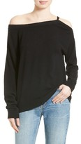Vince Women's Convertible Cold Shoulder Cashmere Sweater