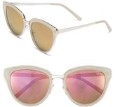 Quay 'Every Little Thing' 54mm Cat Eye Sunglasses