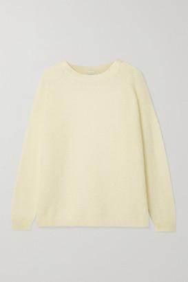 Max Mara Leisure Geode Mohair-blend Sweater - Cream