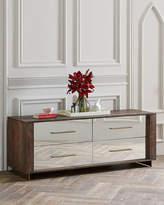 Pratt Four-Drawer Mirrored Dresser