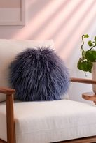 Urban Outfitters Willow Faux Fur Round Pillow