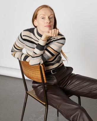 Jigsaw Cashmere Mixed Stripe Jumper