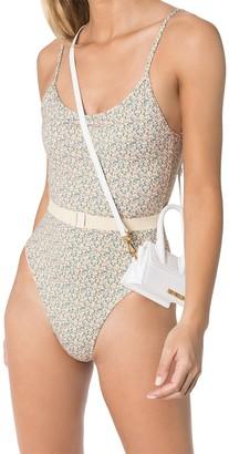 Les Girls Les Boys Liberty floral-print swimsuit