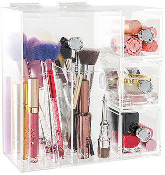 Impressions Vanity Diamond Collection Brushes & More! Acrylic Organizer
