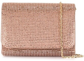 Rene Caovilla Stain Crystal Embellished Clutch