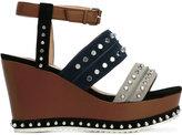 Steffen Schraut studded platform sandals