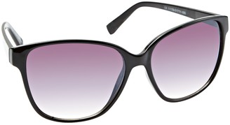 Icon Black Opaque Fashion Sunglasses