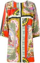 Etro circus print shift dress