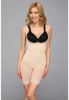 Miraclesuit Shapewear - Extra Firm Sheer Shaping Open Bust Mid-Thigh Slimmer Women's Underwear