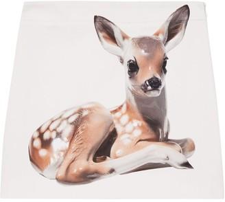 Burberry Deer-Print Skirt