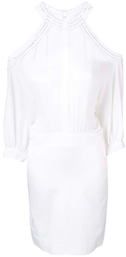 Genny cut-out shoulder dress