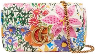 Gucci Online Exclusive Ken Scott print GG Marmont super mini bag