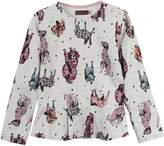 Catimini Girls Animal Print Sweatshirt