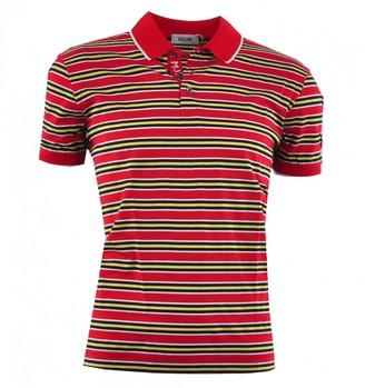 Dolce & Gabbana Red Cotton Polo shirts