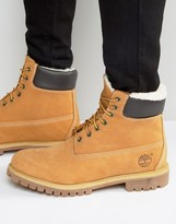 Timberland Classic Faux Shearling Premium Boots
