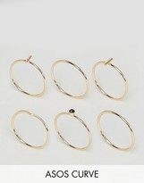 Asos Minimal Sleek Ring Pack