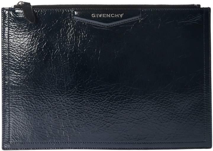 Givenchy Vernished Antigona Clutch